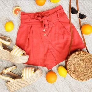 Pants - 🆕️The Ellarosa// Terracota shorts